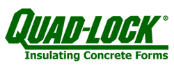 Quad-Lock Insulated Concrete Forms